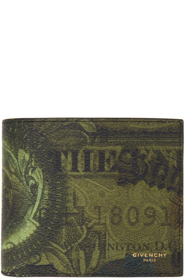 Givenchy - Green Money Wallet