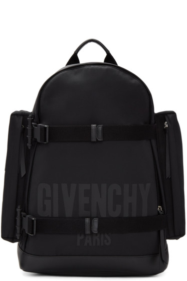 Givenchy - Black Canvas Backpack
