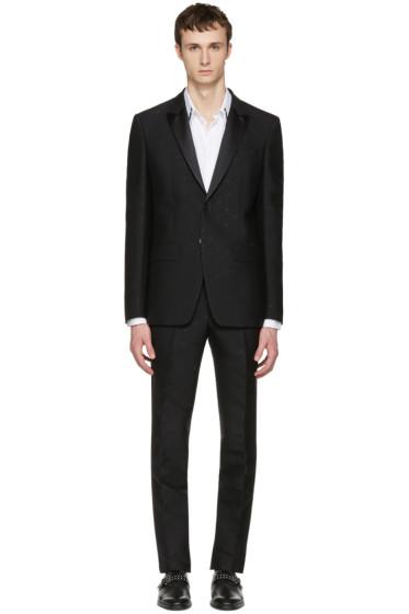 Givenchy - Black Jacquard Tuxedo