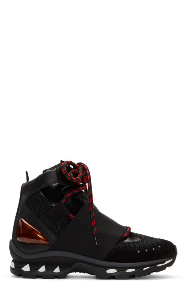 Givenchy - Black Hiker High-Top Sneakers