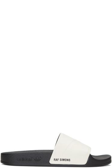 Raf Simons - Off-White adidas Originals Edition Adilette Slide Sandals