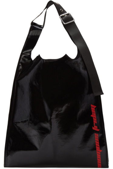 Raf Simons - Black 'Venomous Friday' Tote