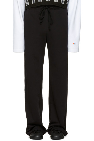 Raf Simons - Black Long Jogging Pants