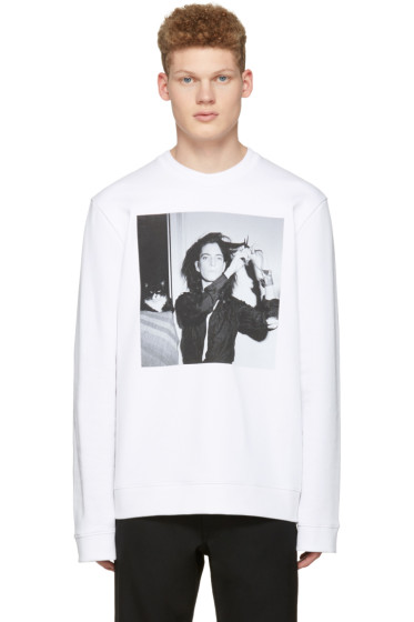 Raf Simons - White Robert Mapplethorpe Edition Patti Smith Pullover