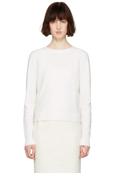 Proenza Schouler - White Buttoned Sweater