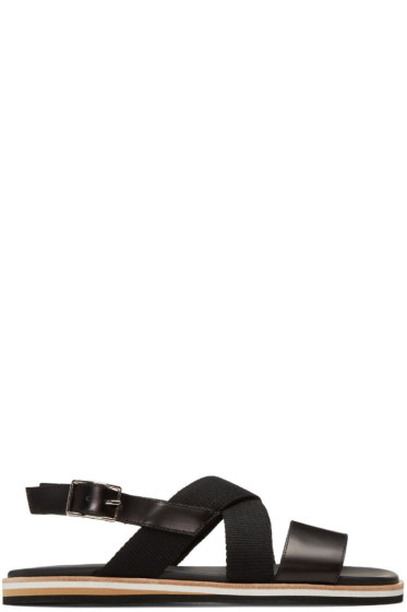 Want Les Essentiels - Black Jobim Sandals
