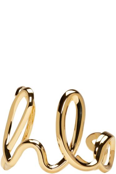 Chloé - Gold 'Chloé' Cuff