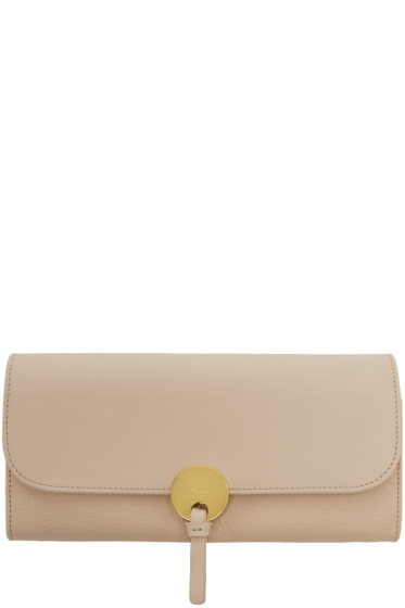 Chloé - Pink Long Indy Wallet