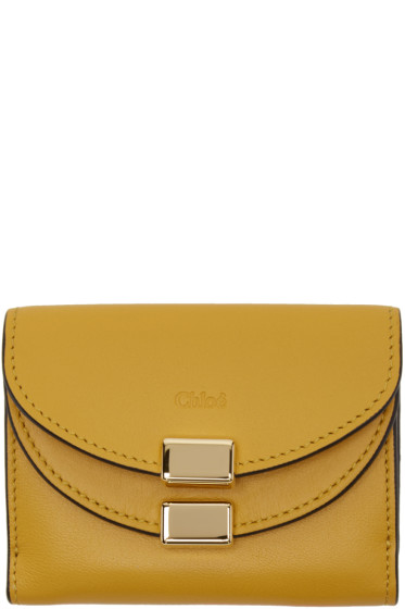 Chloé - Yellow Square Georgia Wallet