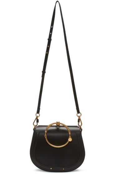 Chloé - Black Medium Nile Bracelet Bag