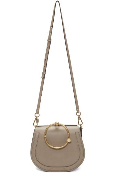 Chloé - Grey Medium Nile Bracelet Bag