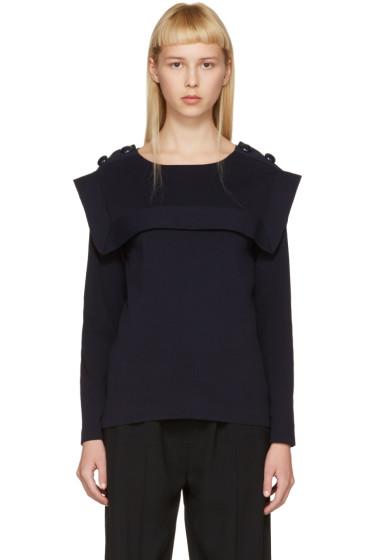 Chloé - ネイビー セーラー セーター