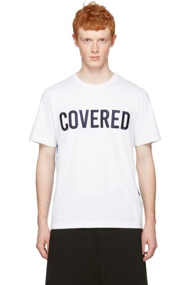 Juun.J - White 'Covered' T-Shirt