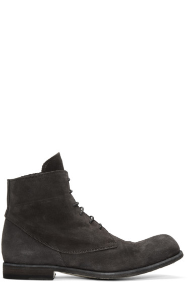 Officine Creative - Grey Bubble 10 Boots