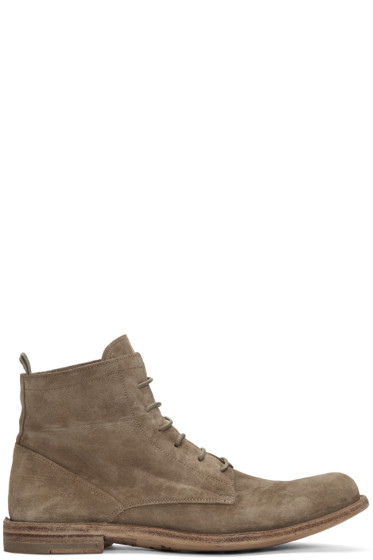 Officine Creative - Taupe Ideal 19 Boots