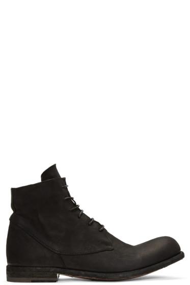 Officine Creative - ブラック バブル 10 ブーツ
