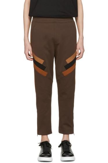 Neil Barrett - Tricolor Panelled Modernist Lounge Pants