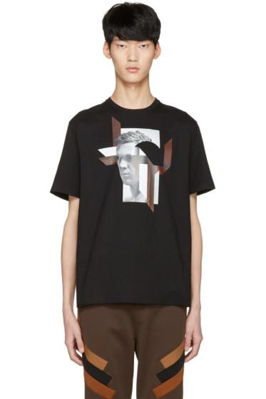 Neil Barrett - Black Modernist Steve McQueen T-Shirt