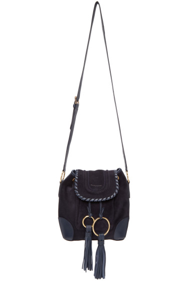 See by Chloé - Navy Polly Bag