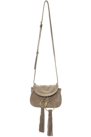 See by Chloé - Grey Mini Tassels Bag