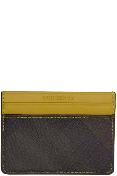 Burberry - Yellow Sandon Card Holder