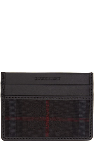 Burberry - Black Sandon Card Holder