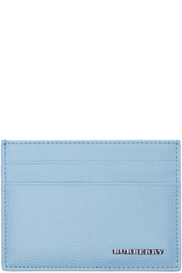 Burberry - Blue Sandon Card Holder