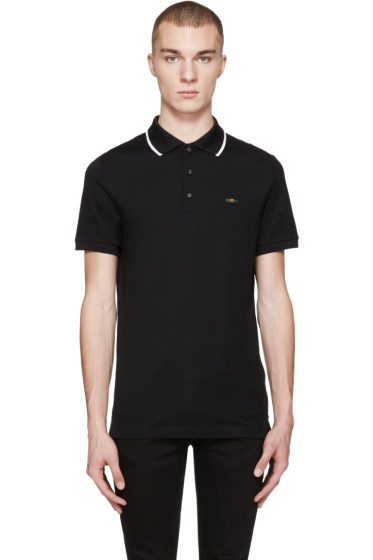Burberry - Black Adley Polo