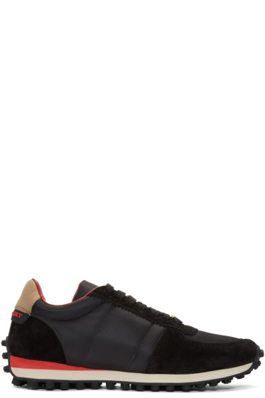 Burberry - Black The Track Sneakers