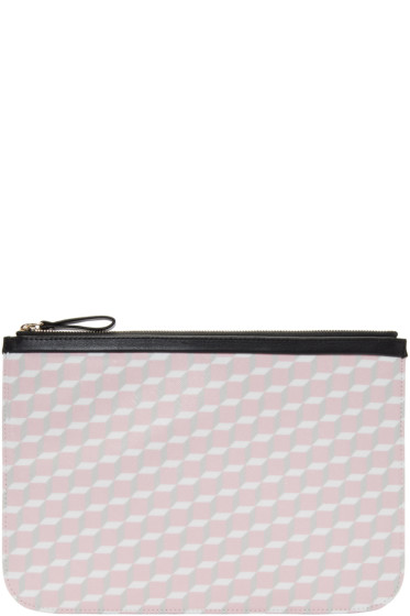 Pierre Hardy - SSENSE Exclusive Pink Large Cube Pouch