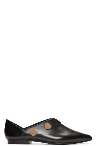 Pierre Hardy - Black Penny Loafers