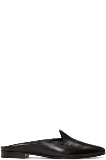 Pierre Hardy - Black Jacno Mule Loafers