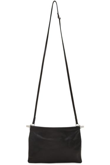 Ann Demeulemeester - Black Bended Clasp Wodan Bag