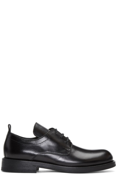 Ann Demeulemeester - Black Long Tongue Derbys