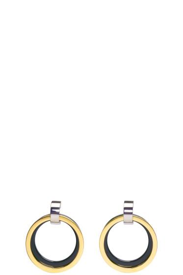 Marni - Green Hoop Earrings