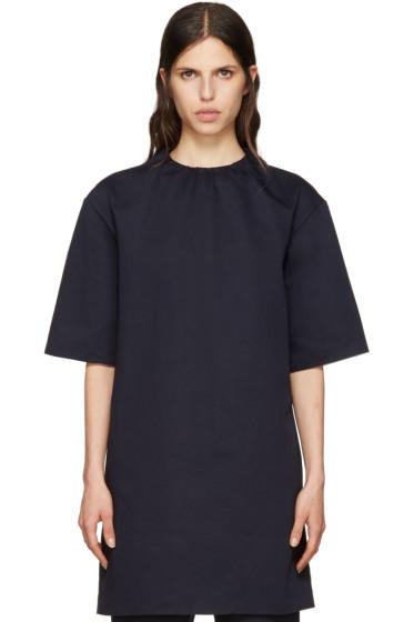 Marni - Navy Twill Dress