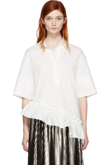 Marni - White Asymmetric Shirt