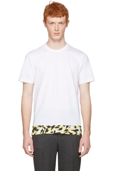 Marni - White Printed Hem T-Shirt