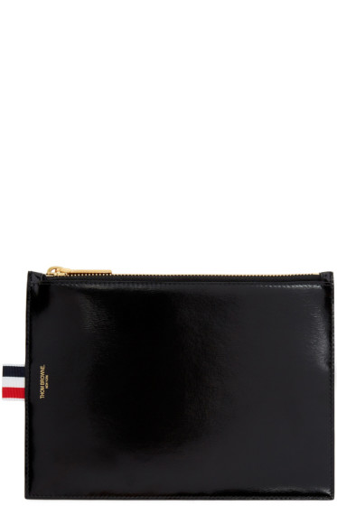 Thom Browne - Black Large Coin Pouch