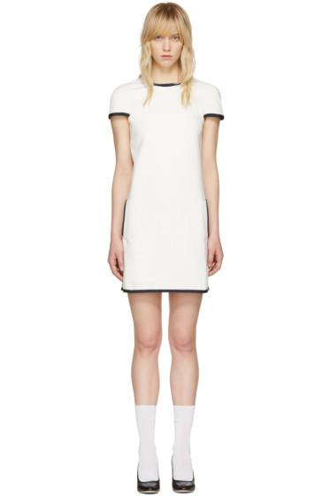 Thom Browne - White A-Line Shift Dress