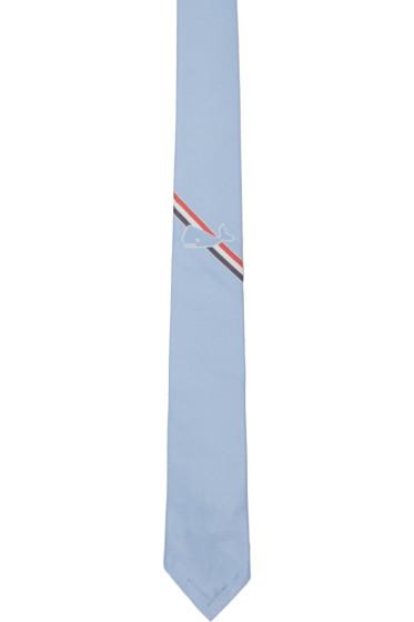 Thom Browne - Blue Whale Stripe Classic Tie