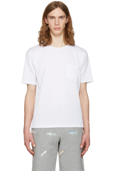 Thom Browne - White Pocket T-Shirt