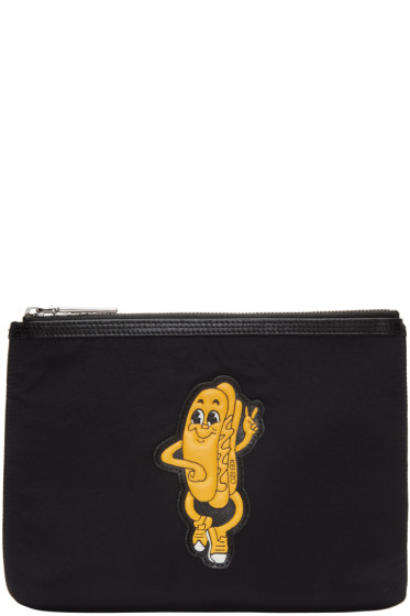 Kenzo - Black Hot Dog Pouch
