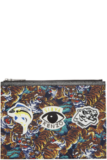 Kenzo - Multicolor Multi Icons Pouch