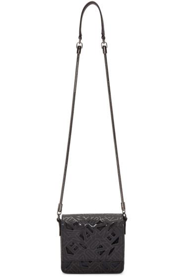 Kenzo - Black Flying Logo Shoulder Bag