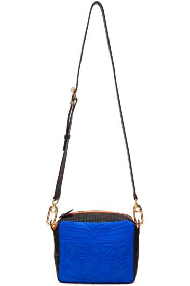 Kenzo - Blue & Black Kombo Shoulder Bag