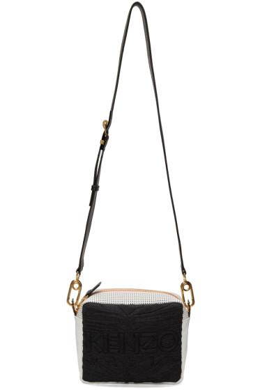 Kenzo - Black & White Kombo Shoulder Bag