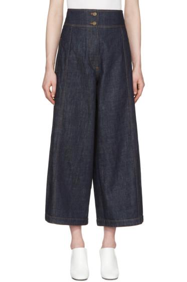Kenzo - Blue Wide Cut Jeans