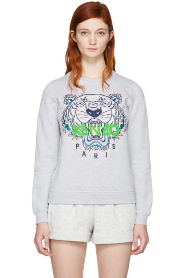 Kenzo - Grey Tiger Pullover