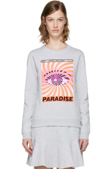 Kenzo - Grey 'Paradise' Flyer Pullover